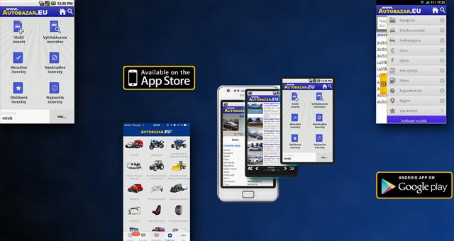 Autobazar.eu app