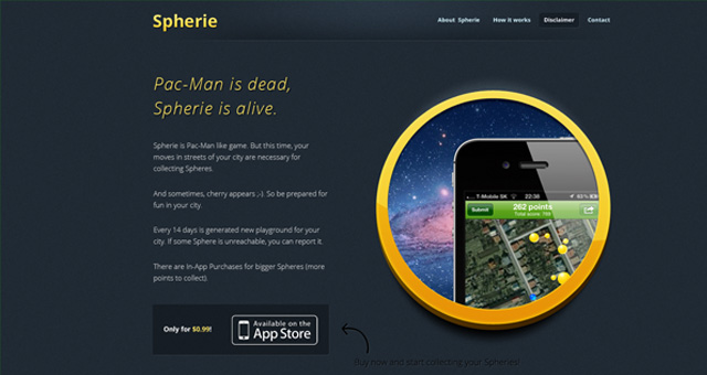 Spherie app
