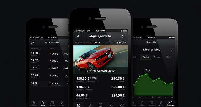 Spotreba app